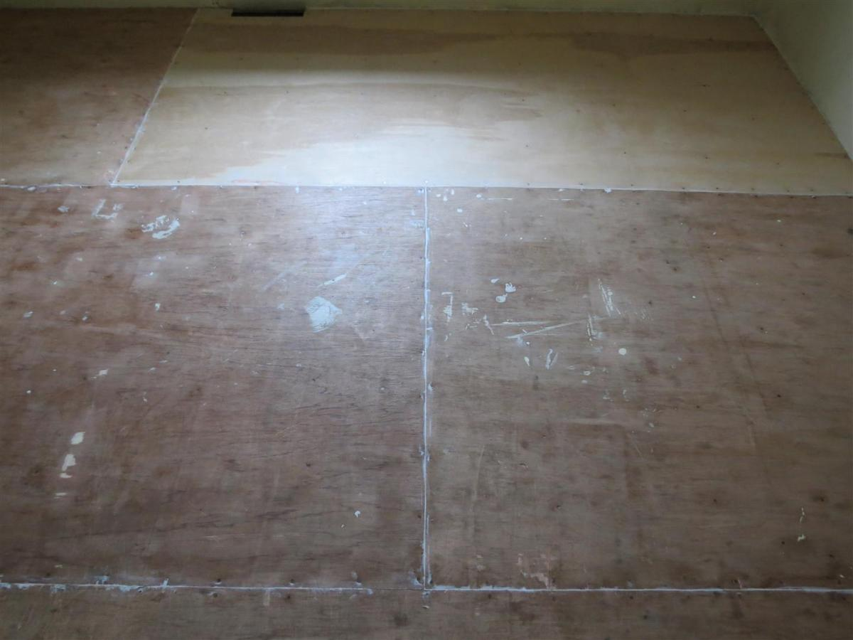 Painted Plywood Floors - A How-To