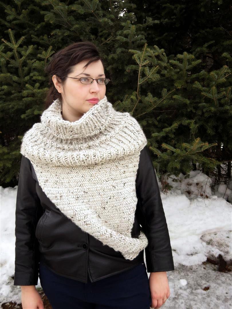 knit katniss cowl