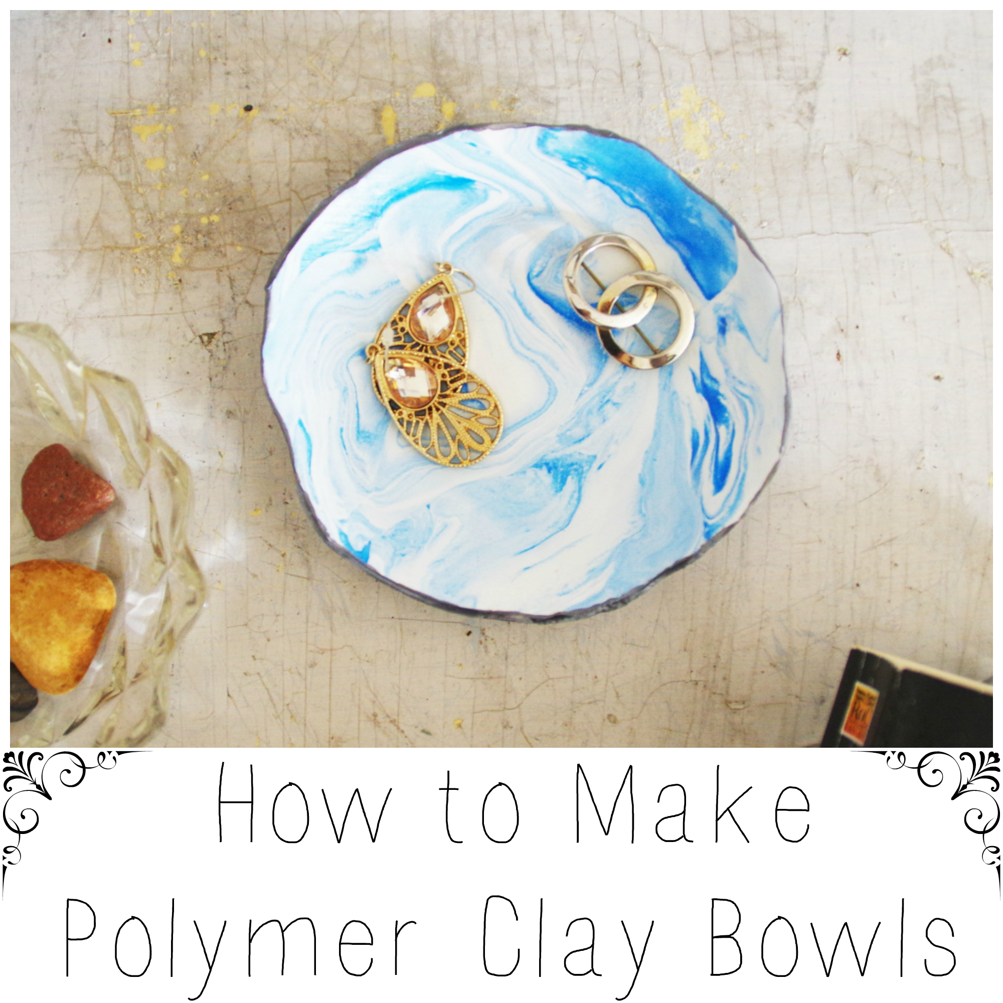 How to make polymer clay